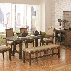 Ashley Sofa Tables Lane Cooper Arcadia Dining Room Set Coaster Furniture | Furniturepick