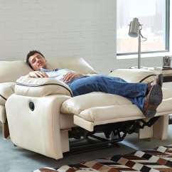 Lay Flat Recliner Chairs For Tall People Larkin Power Buff By Catnapper Furniturepick