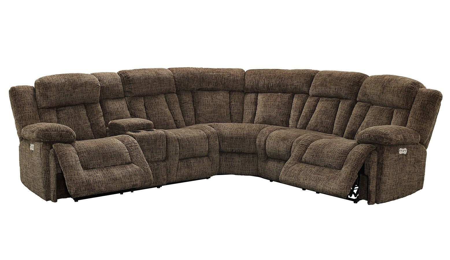 sofa rph bed single futon laura modular power reclining sectional chocolate by new classic