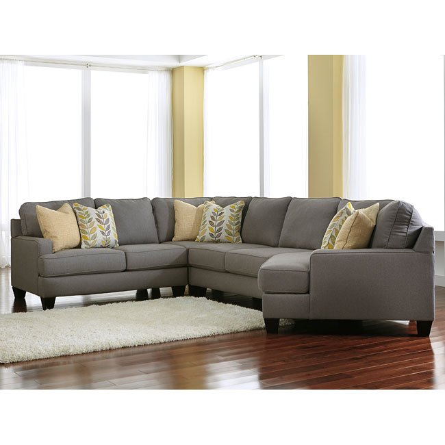Chamberly Alloy Modular Sectional w Cuddler  Sectionals