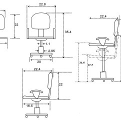 Diagram Of Pneumatic Office Chair 5 1 Rotation Swivel Gas Lift By Chintaly Imports