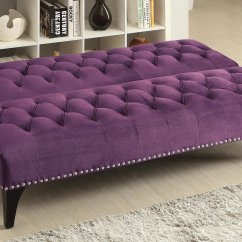 Purple Velvet Upholstered Sofa Wicker And Polyester Convertible Outdoor Chaise Lounger Bed By Coaster Furniture Furniturepick