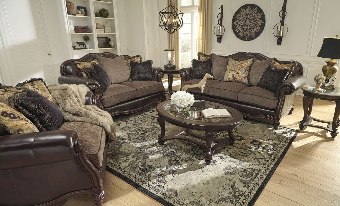 vintage living room sets simple interior designs for small rooms winnsboro durablend set by signature design