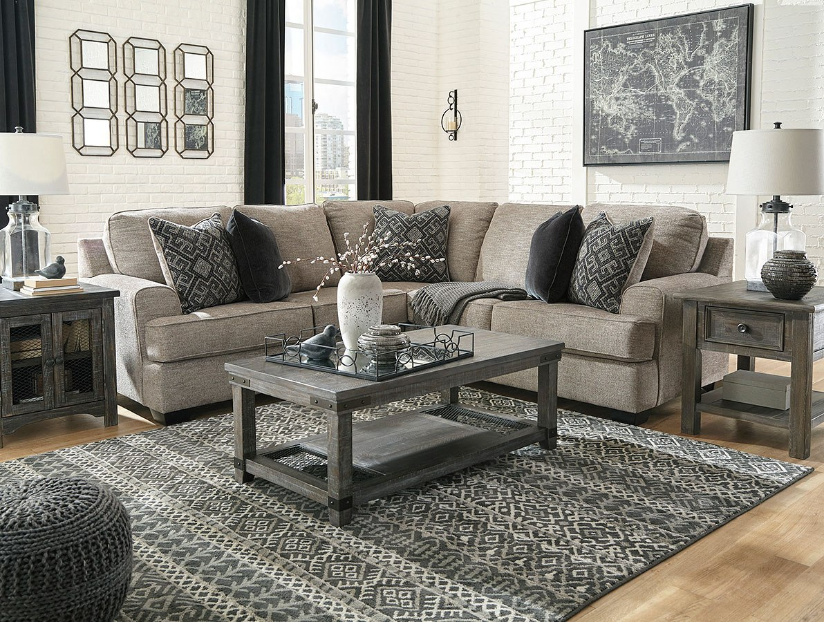 Bovarian Stone Modular Sectional Set by Signature Design