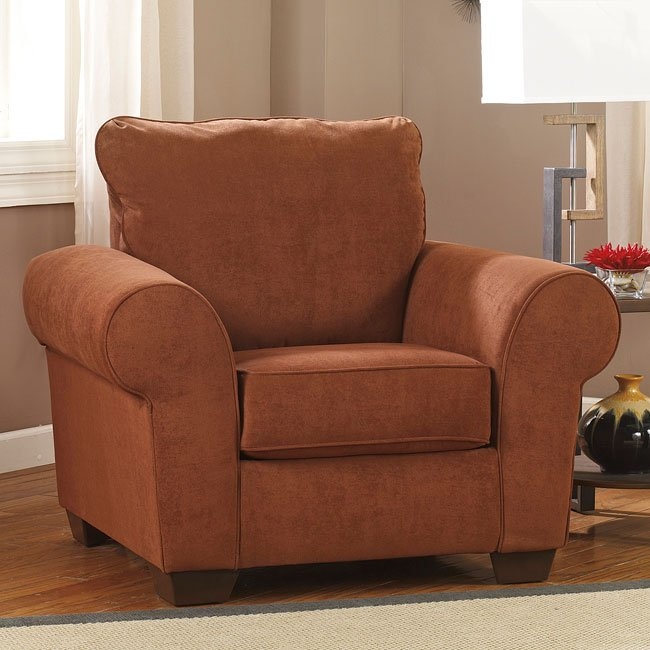Deandre Terra Cotta Chair  Chairs  Living Room Furniture