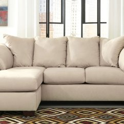 Darcy Sofa Chaise Ashley Furniture Kmart Essential Home Sleeper Stone Set By Signature Design