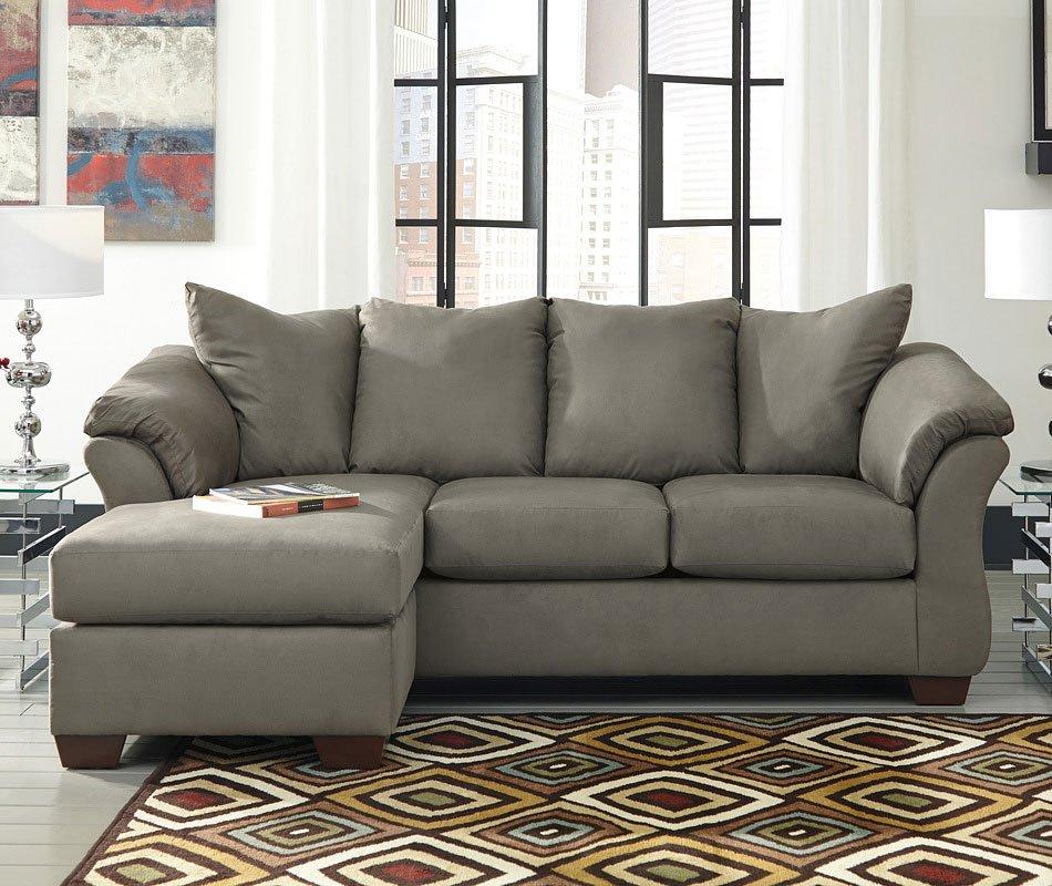 Darcy Cobblestone Sofa Chaise