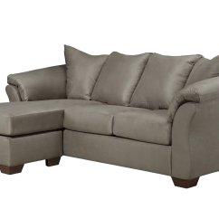 Darcy Sofa Chaise Ashley Furniture Pier 1 Imports Carmen Reviews Cobblestone By Signature Design