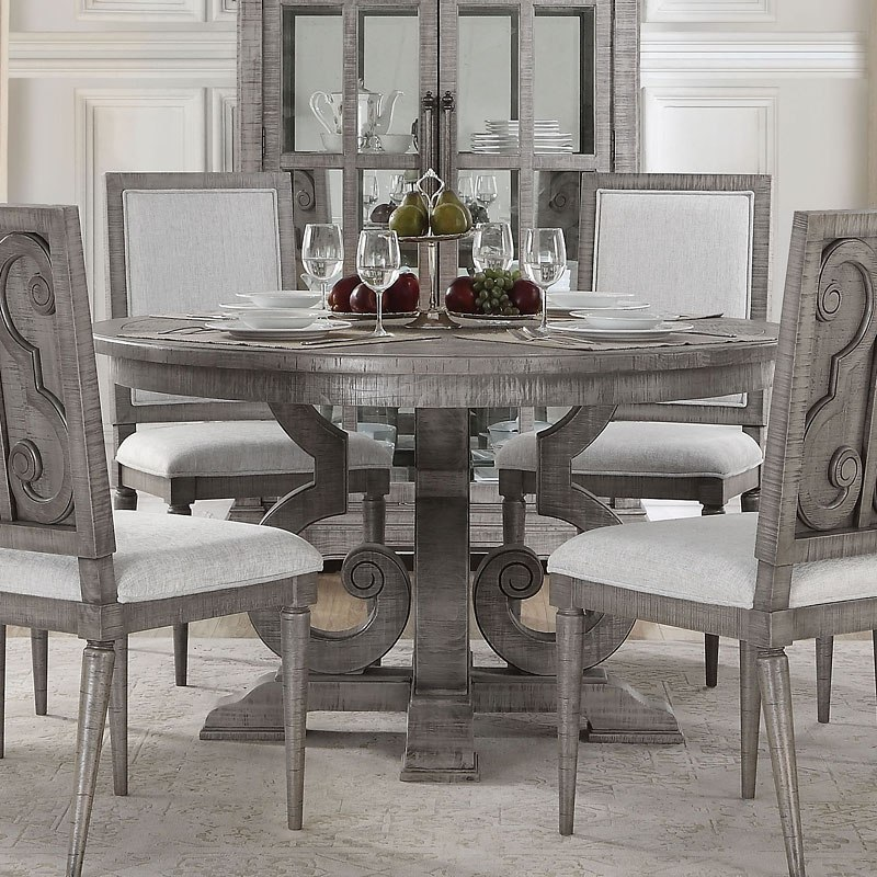 artesia round dining table