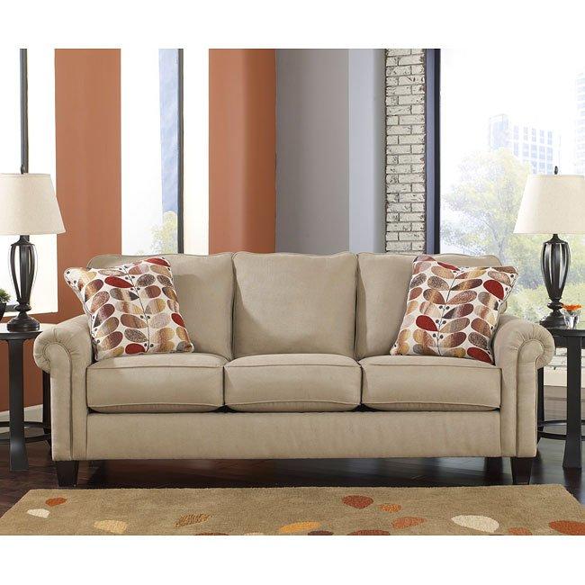 oatmeal sofa big box bed ekron by benchcraft furniturepick