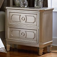Windsor Nightstand (Silver) - Nightstands - Bedroom ...