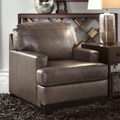 Pewter Chair Rocking And Ottoman Babies R Us Derwood By Signature Design Ashley Furniturepick