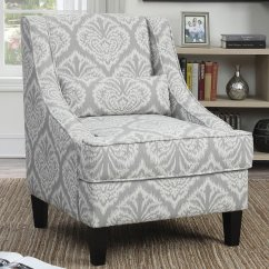 Ashley Sleeper Sofa With Electric Footrest Grey And White Pattern Accent Chair - Chairs ...