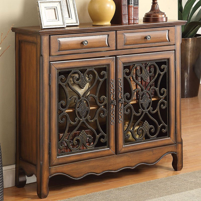Brown Accent Cabinet  Accent Chests and Cabinets
