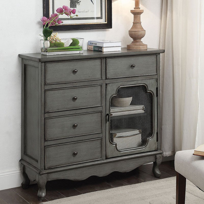 CountryInspired Accent Cabinet by Coaster Furniture