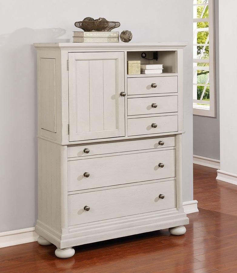 Bellville Secretary Chest Vintage White By Avalon