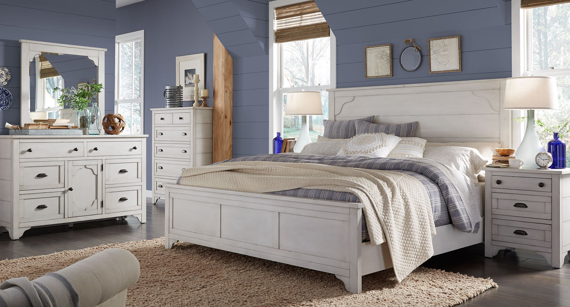 Coventry Lane Panel Bedroom Set by Magnussen  FurniturePick