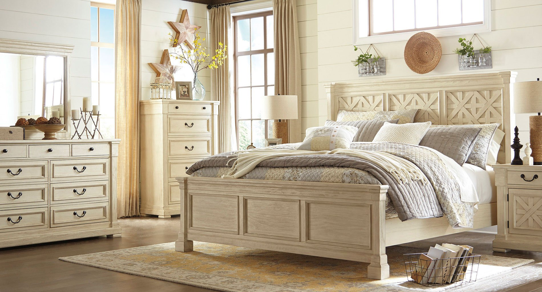 Bolanburg Panel Bedroom Set by Signature Design by Ashley  FurniturePick