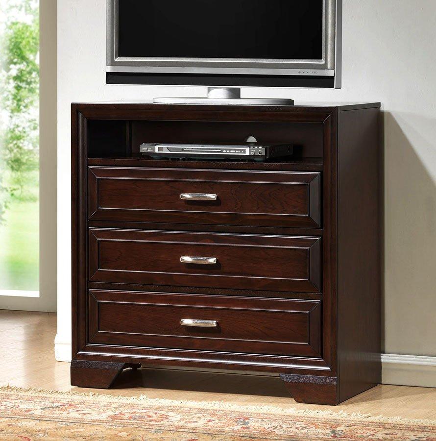 Jacob Media Chest  Bedroom Furniture  Bedroom