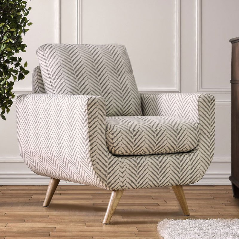 accent chairs gray pattern swing chair rona alondra by furniture of america furniturepick