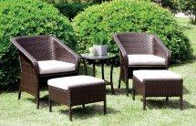 malinda 5-piece patio seating set