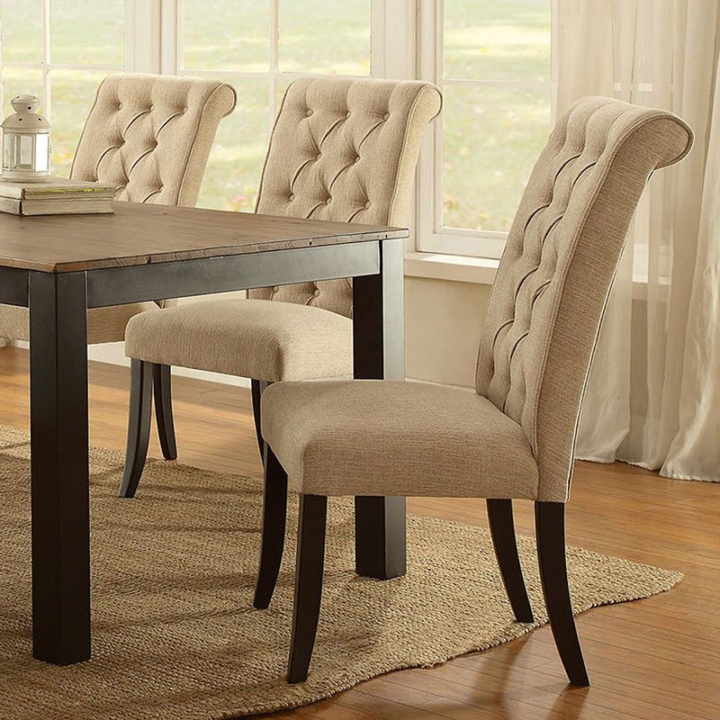 Marshall Side Chair Set of 2 by Furniture of America