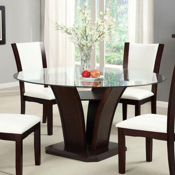 Manhattan Dining Table Dark Cherry Furniture