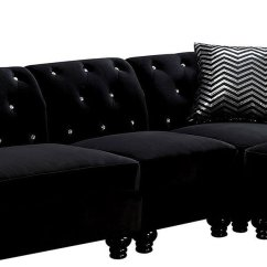 Al S Chairs And Tables Upholstered Glider Chair Jolanda Armless Black By Furniture Of America Furniturepick
