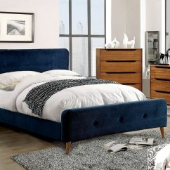 Bedroom Chair Navy Bariatric Recliner Barney Upholstered Set Furniture
