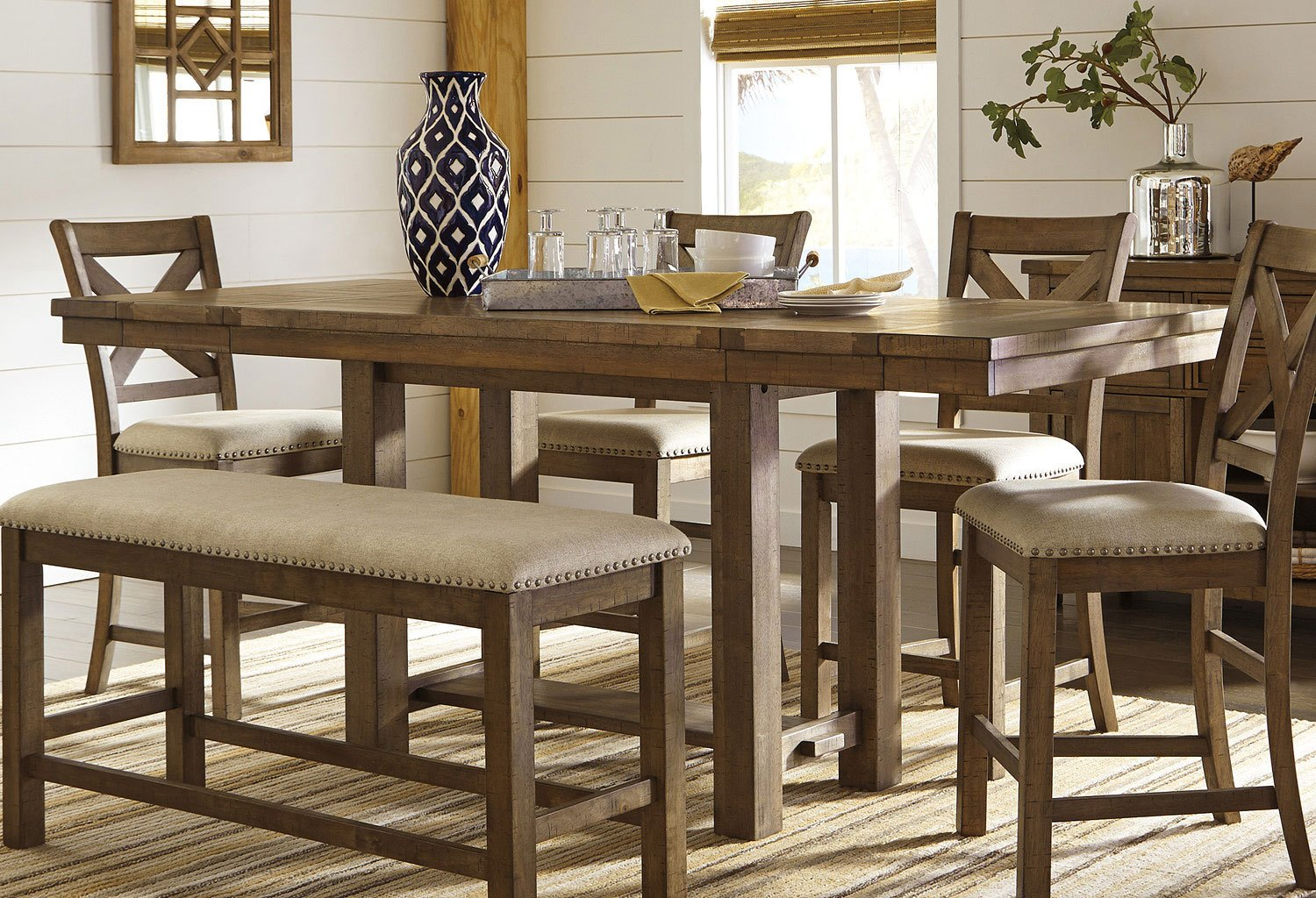 Moriville Counter Height Dining Table by Signature Design
