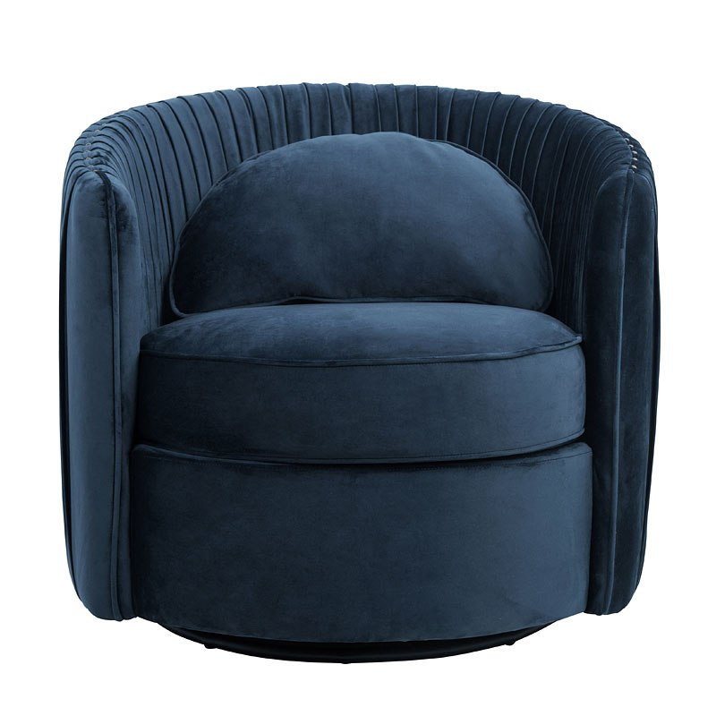 navy blue accent chairs computer target small space deep chair by accentrics home furniturepick