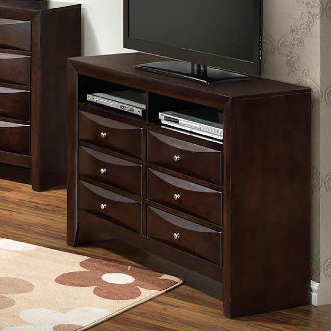 G1525 Media Chest by Glory Furniture  FurniturePick