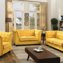 Swivel Chair Mustard Yellow Office Sale G322 Tufted Living Room Set