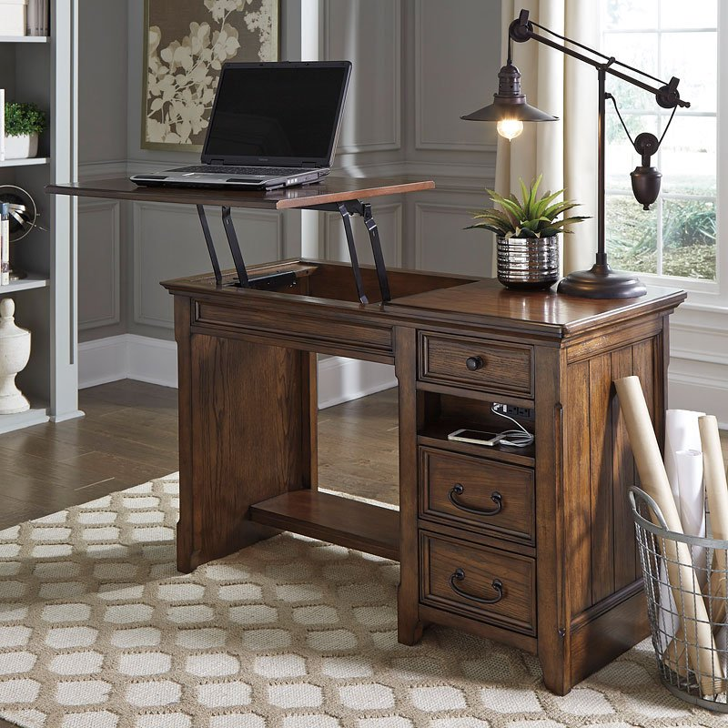 Woodboro Home Office Lift Top Desk Home Office Desks