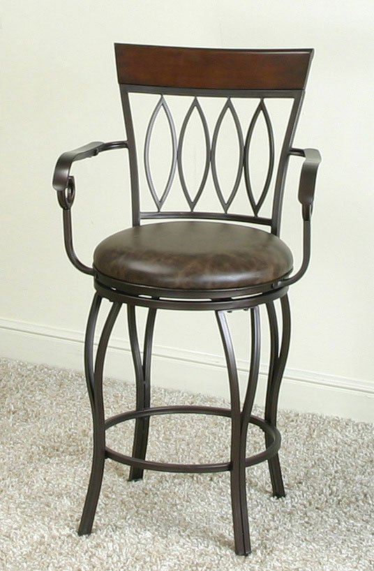 counter height arm chairs kitchen chair pads target monza 24 inch diamond back stool w arms by cramco designed
