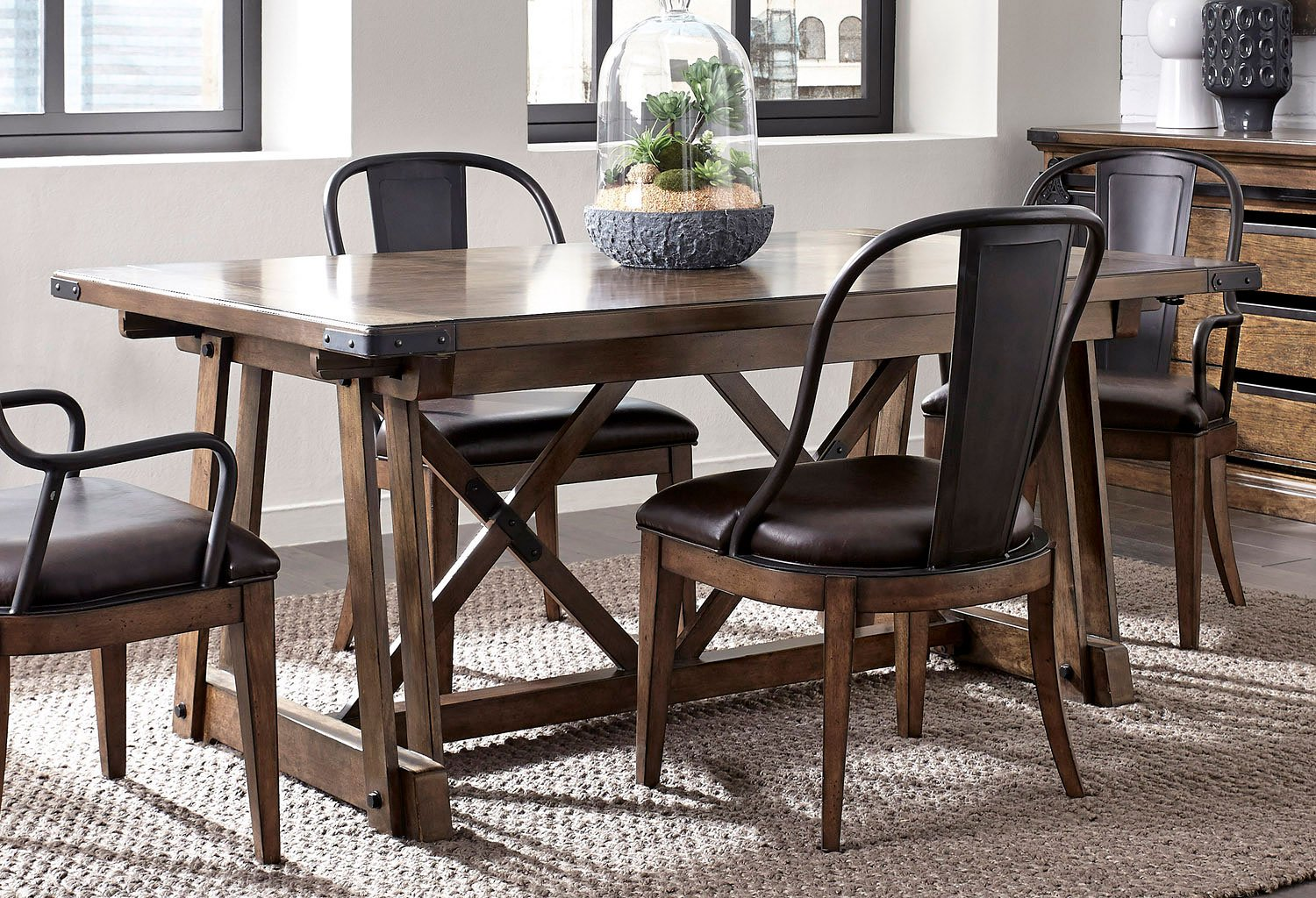 Rectangle Kitchen Table And Chairs Weston Loft Rectangular Dining Table Dining Room And