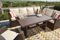 Salceda Outdoor Sectional Set by Signature Design by ...