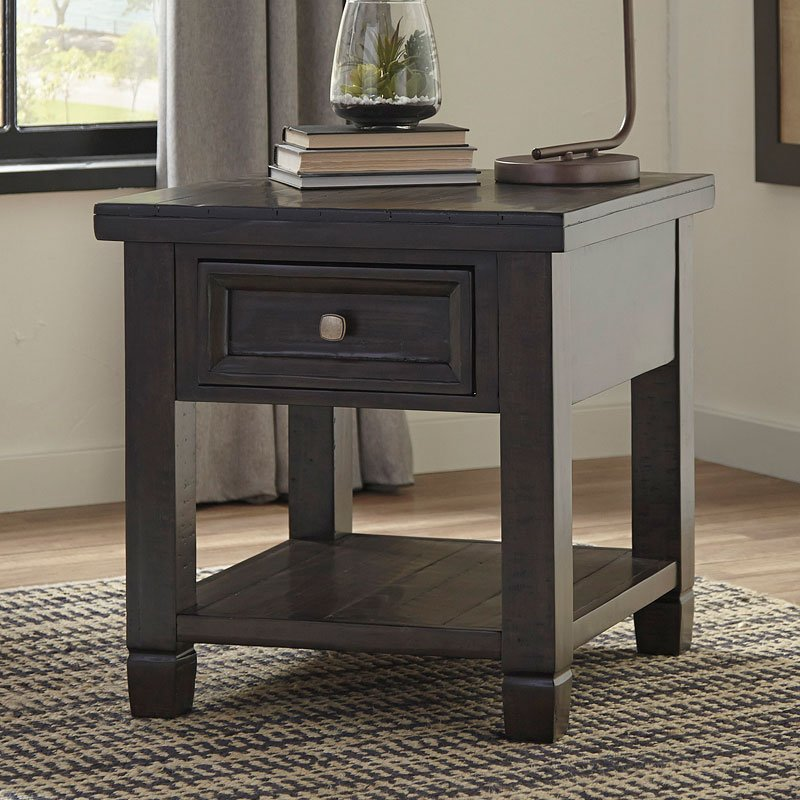 Townser End Table End Tables Occasional And Accent