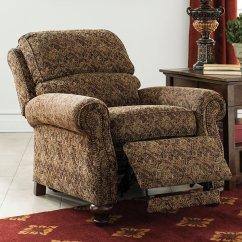 Reclining Sofas And Loveseats Sets Usa Leather Sofa Manufacturer Walworth Accent Low Leg Recliner - Recliners Rockers ...