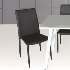 Set Of 4 Dining Chairs Green Velvet Swivel Chair Dc 13 Black Room And Kitchen Furniture