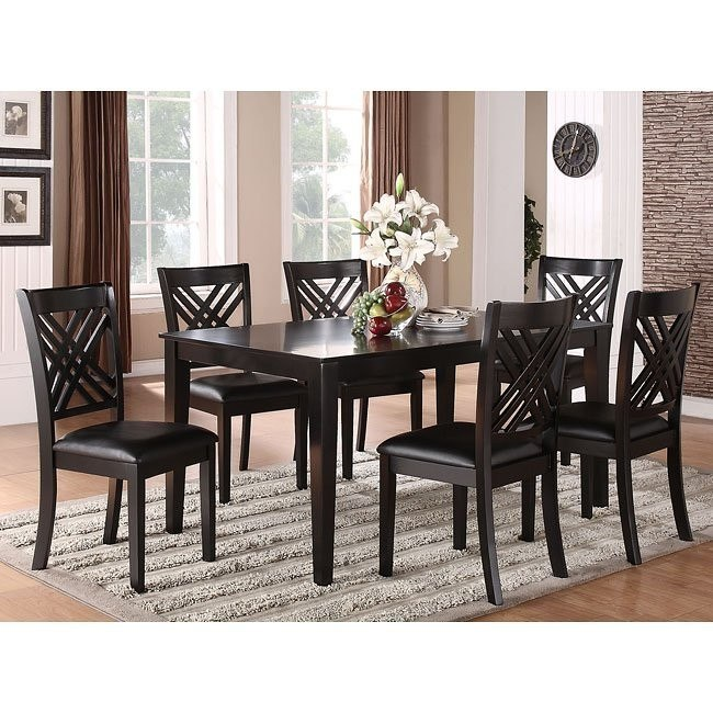 Brooklyn 7Piece Dining Room Set by Standard Furniture 1