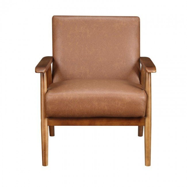 wood frame accent chairs ikea lounge chair outdoor brown by pulaski furniture furniturepick