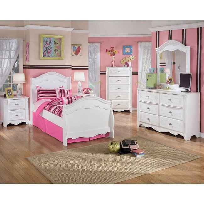 Exquisite Sleigh Bedroom Set by Signature Design by Ashley