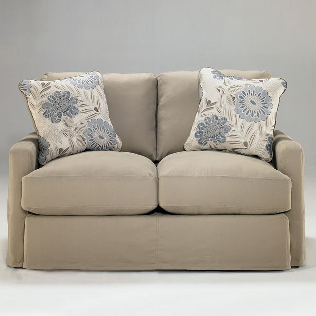 addison sofa ashley furniture red living rooms khaki loveseat by signature design furniturepick