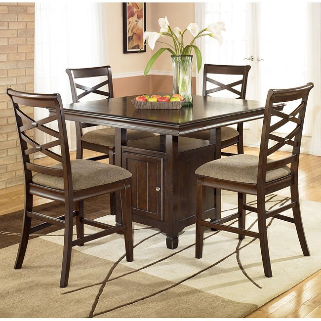 Hayley Counter Height Dining Room Set By Signature Design By Ashley FurniturePick