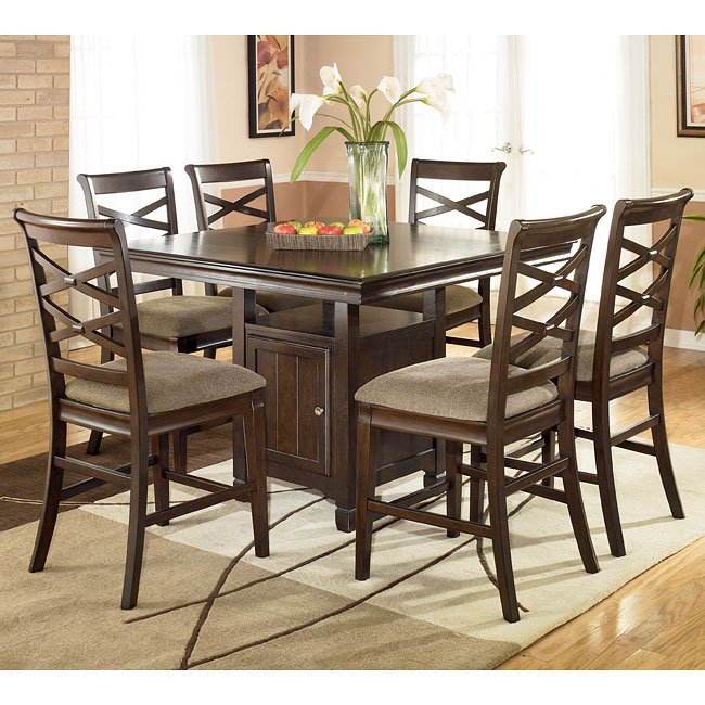 Hayley Counter Height Dining Room Set By Signature Design