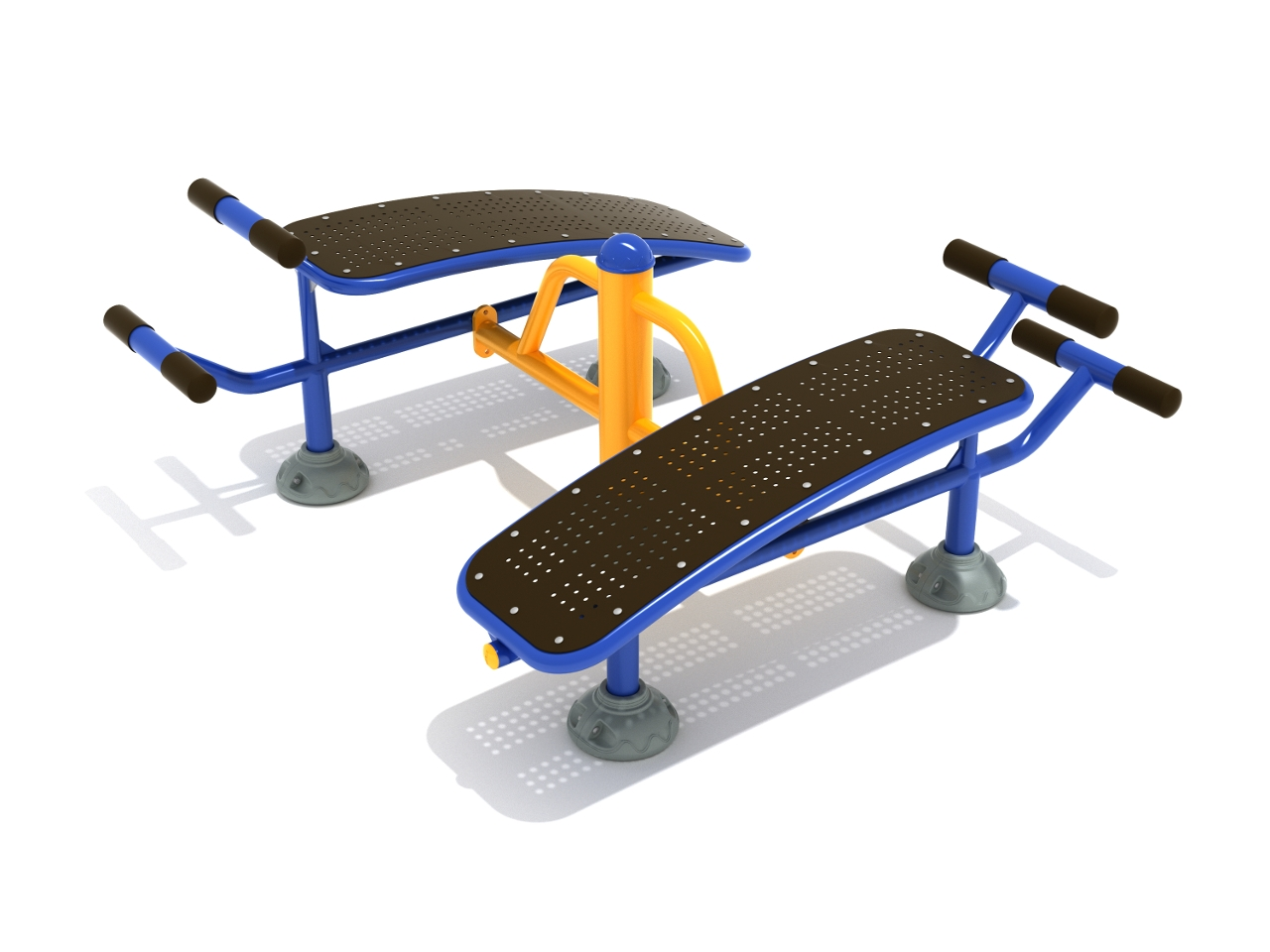 Sit Up Chair Double Sit Up Bench Outdoor Fitness By Playground
