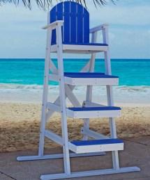 Recycled Plastic Lifeguard Chair Jayhawk Plastics Aaa