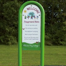 Playground Rules Safety Sign