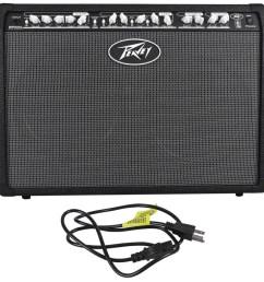 peavey special chorus 212 2 channel 100 watt 2x12 guitar amplifier combo amp audio savings [ 1000 x 985 Pixel ]